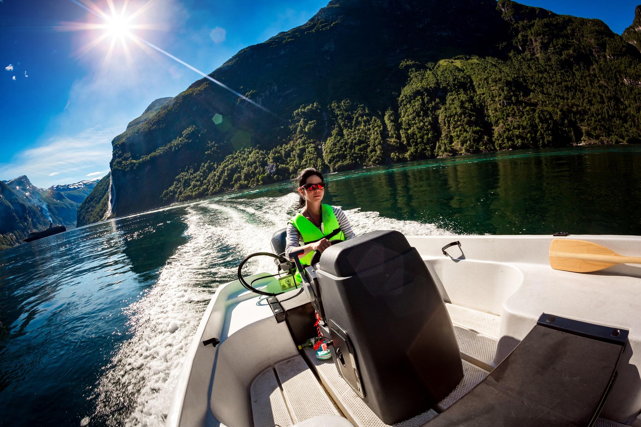 Båtturer i Norge